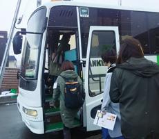 バス見学ツアー